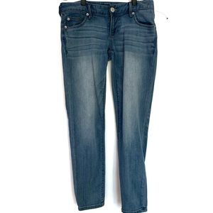 Express ankle Stella low rise skinny jeans